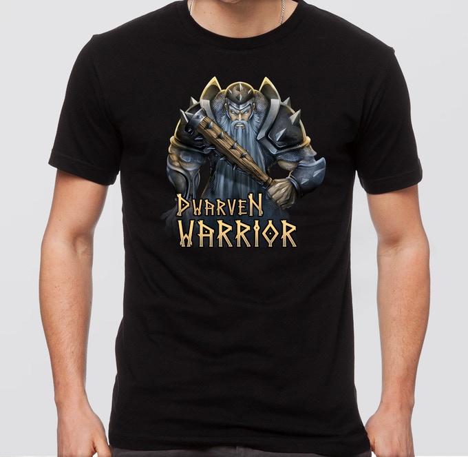 Dwarf Fantasy Tshirt